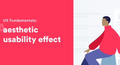 aesthetic usability effect article banner