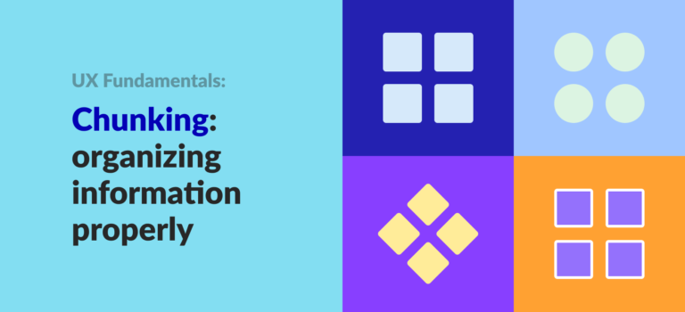 chunking in design article banner