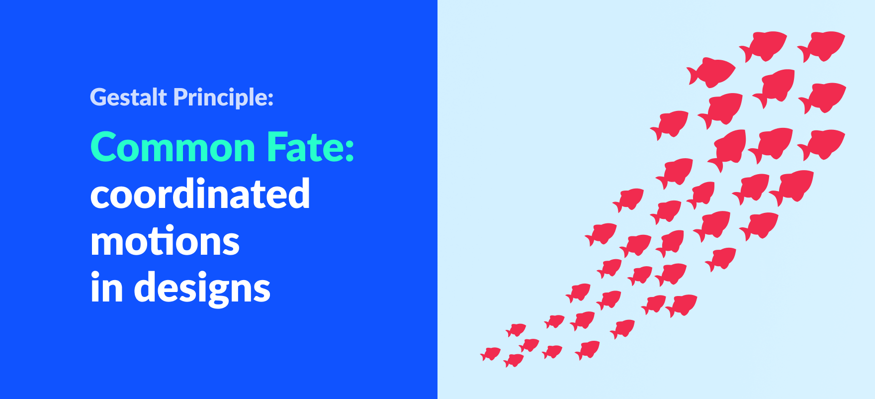 gestalt principle of common fate article banner
